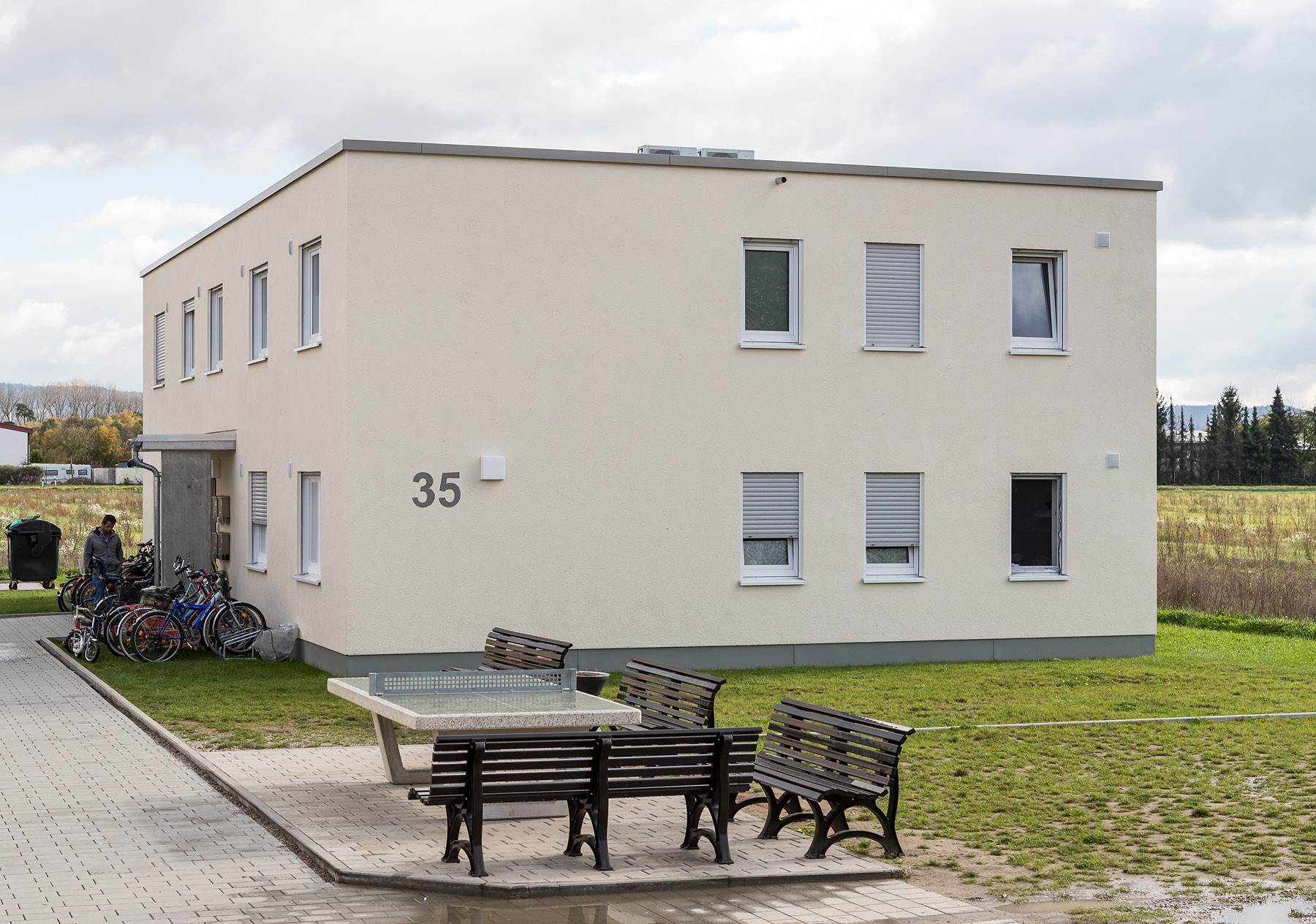 Flüchtlingswohnheim Einhausen